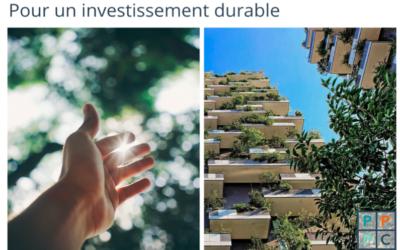 Comment intégrer le développement durable au cœur de votre stratégie patrimoniale ?